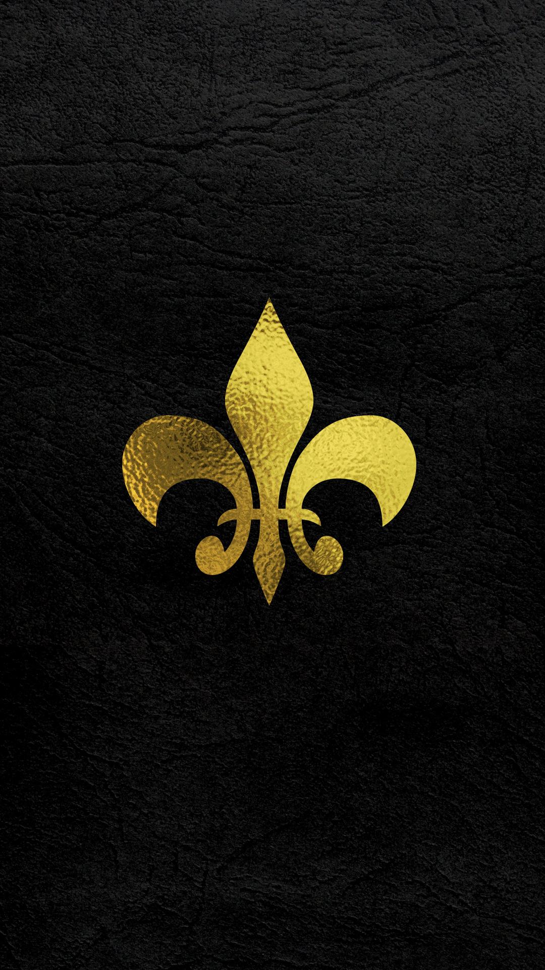 New Orleans Saints Iphone Wallpaper Fleur De Lis Wallpapers Wallpaper Cave