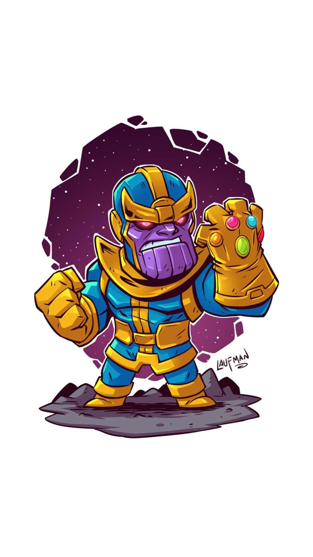 Cute Wallpapers Chibi Animals Thanos Cartoon Wallpapers Wallpaper Cave