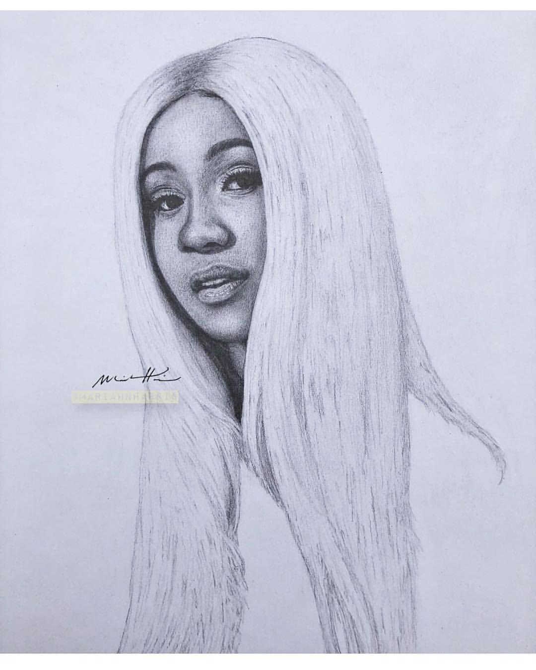 A collection of the top 40 cardi b cartoon wallpapers and backgrounds available for download for free. Cardi B Drawing Wallpapers Wallpaper Cave