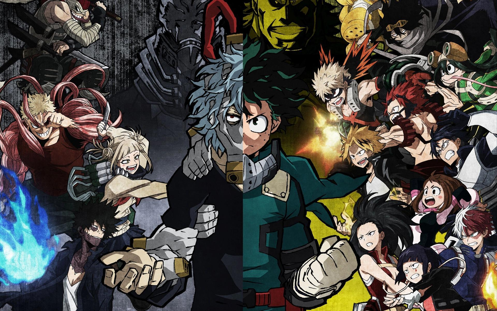 """New 05 images (scroll down to end in """"options"""" box). My Hero Academia Vs Naruto Wallpapers - Wallpaper Cave"""