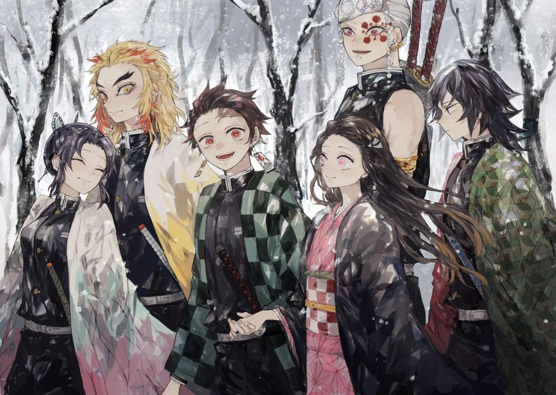 Demon Slayer Kimetsu No Yaiba 4k Wallpapers Wallpaper Cave