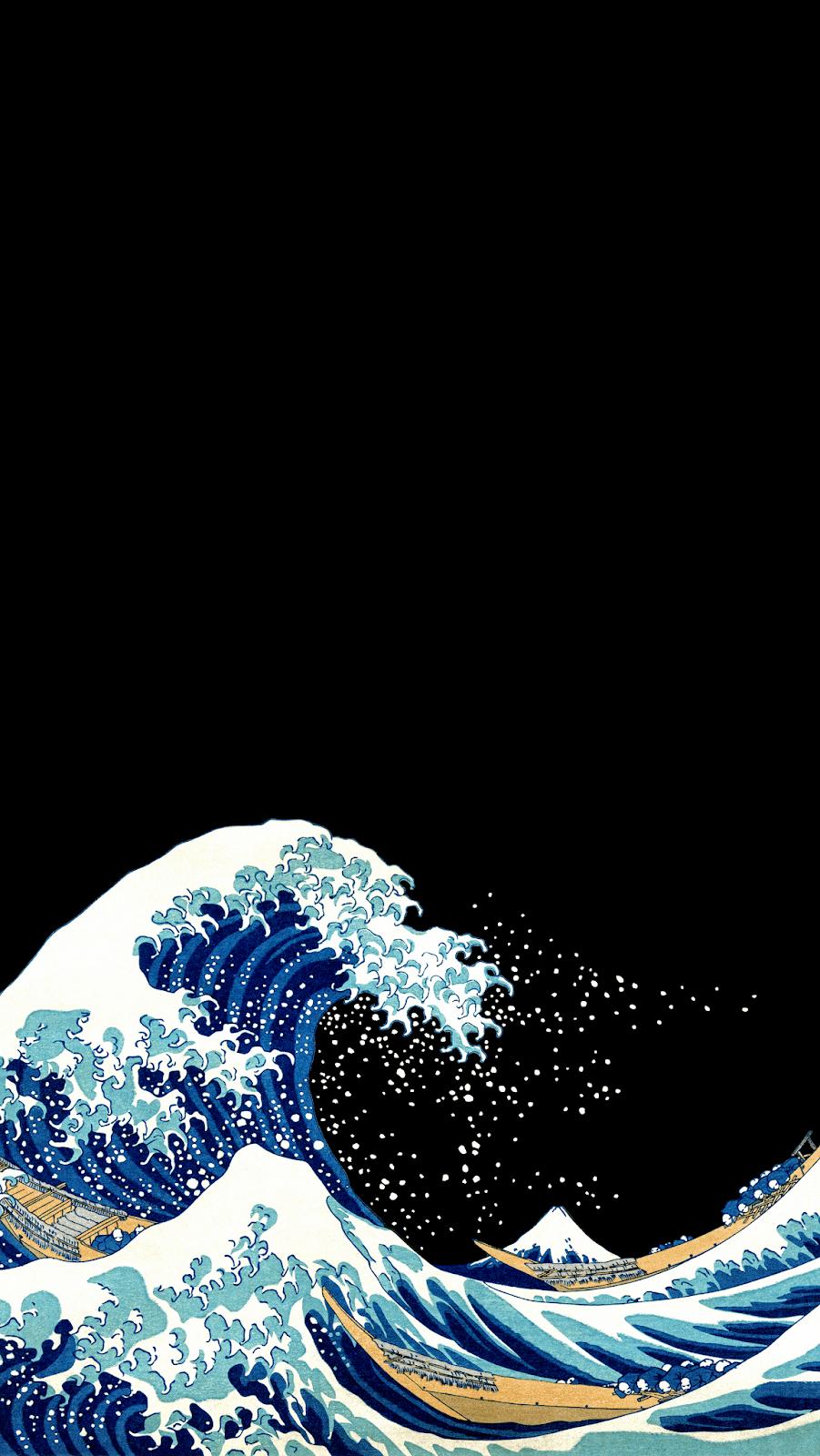 Aesthetic Wave Wallpaper : aesthetic, wallpaper, Aesthetic, Waves, Wallpapers, Wallpaper