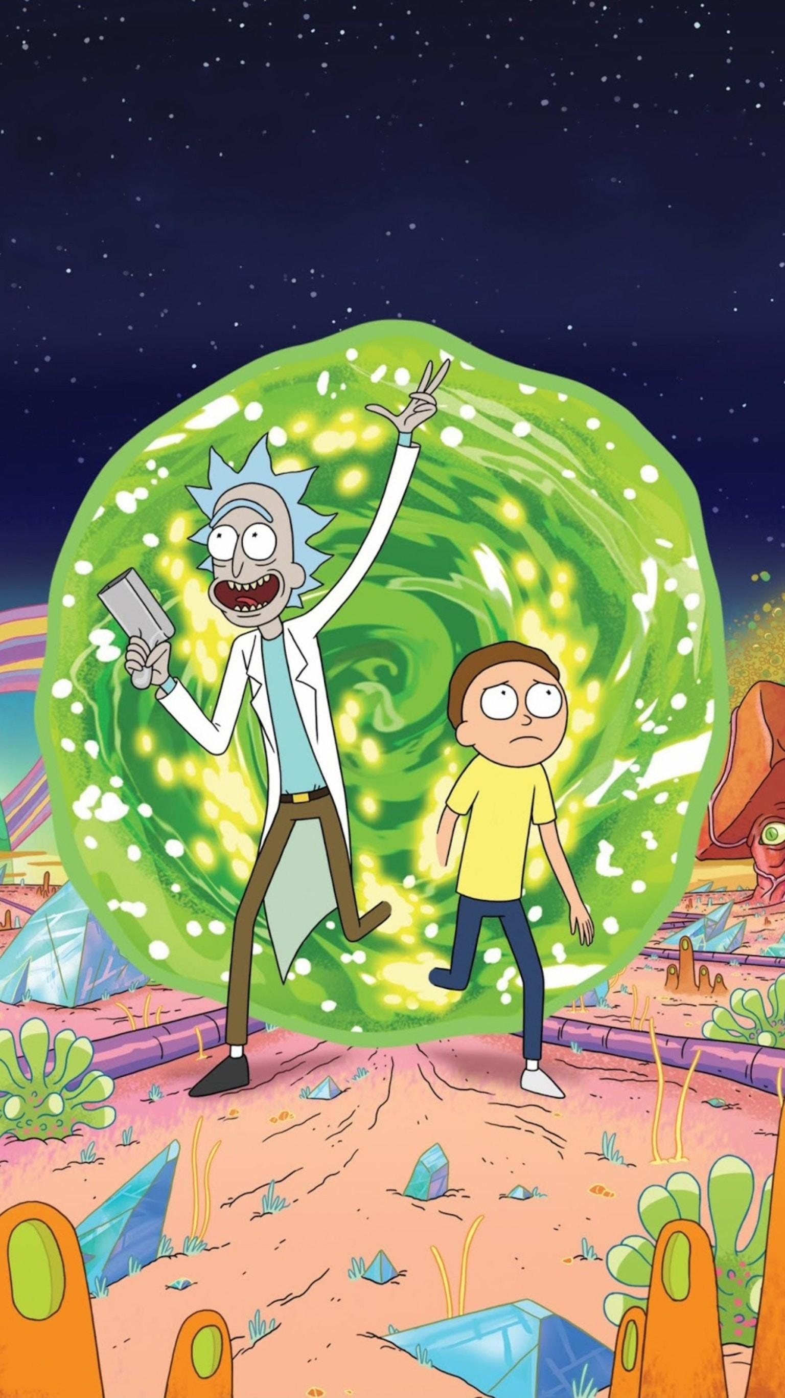 Rick And Morty Wallpaper Iphone : morty, wallpaper, iphone, Iphone, 1080p, Morty, Wallpaper, Phone