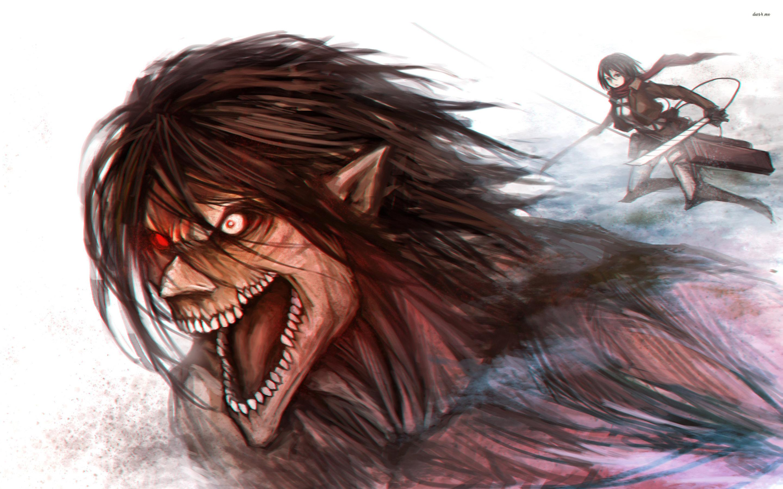 Attack on titan eren wallpaper hd background. Attack On Titan Eren Yeager Wallpapers - Wallpaper Cave