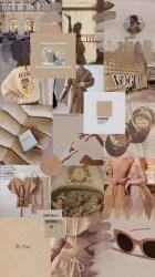 Beige Brown Aesthetic Wallpaper Desktop