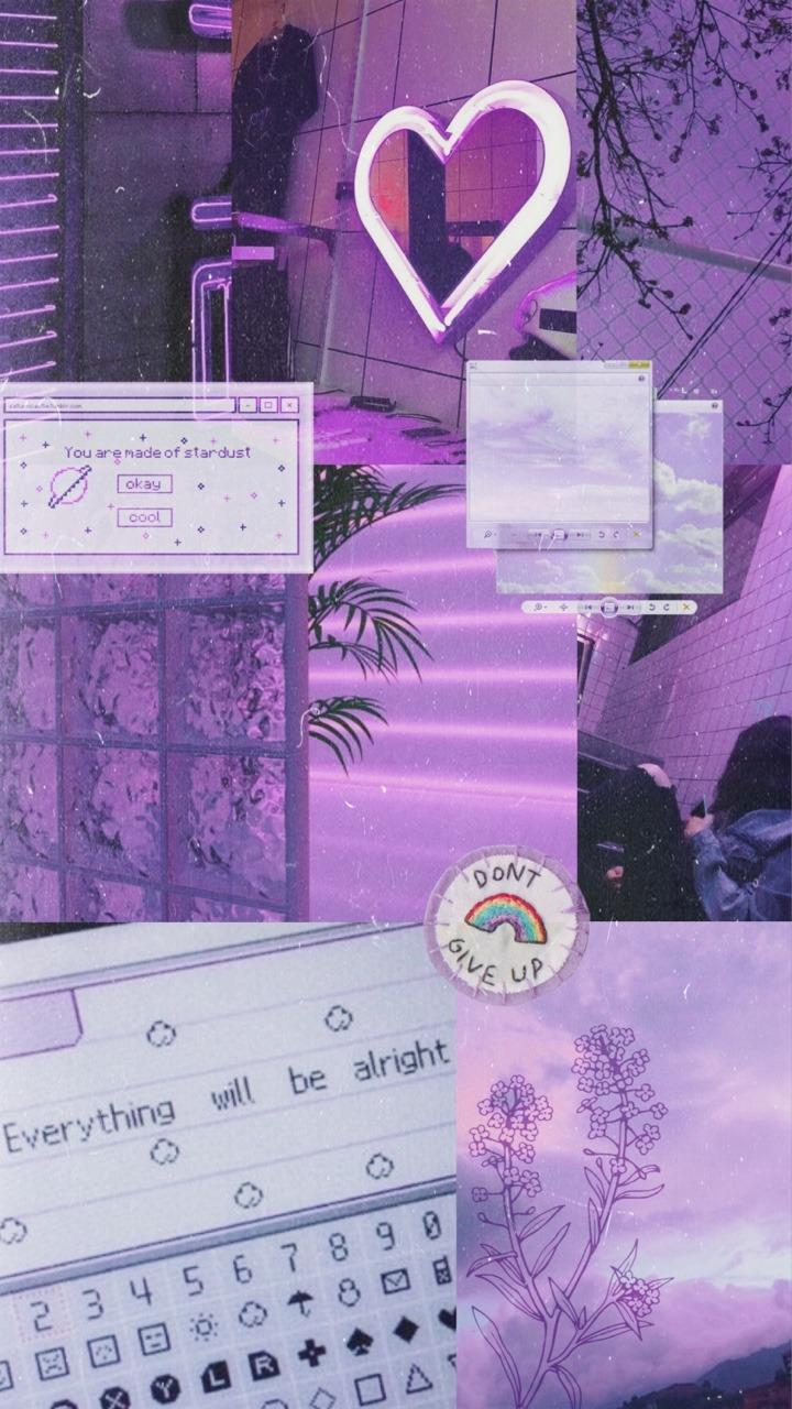 Background Warna Ungu Muda : background, warna, Tumblr, Wallpapers, Wallpaper