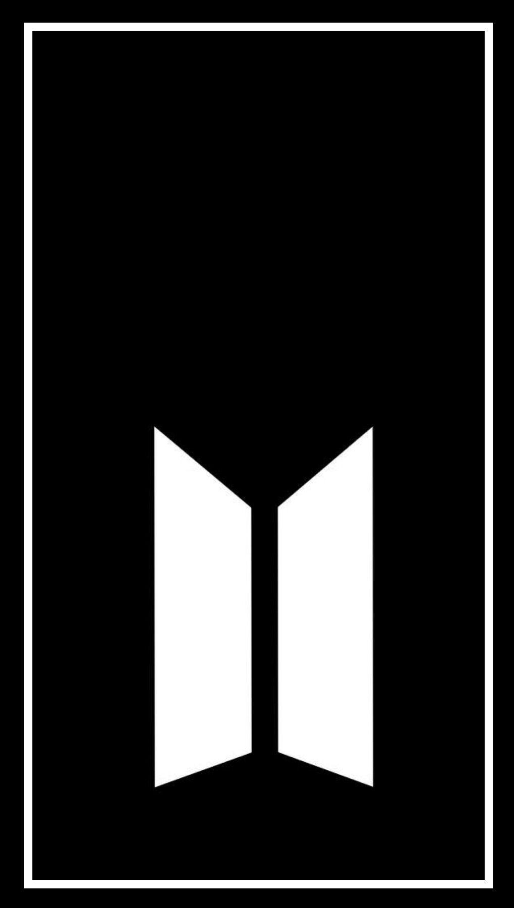 Bts Logo Black And White : black, white, Black, White, Wallpapers, Wallpaper