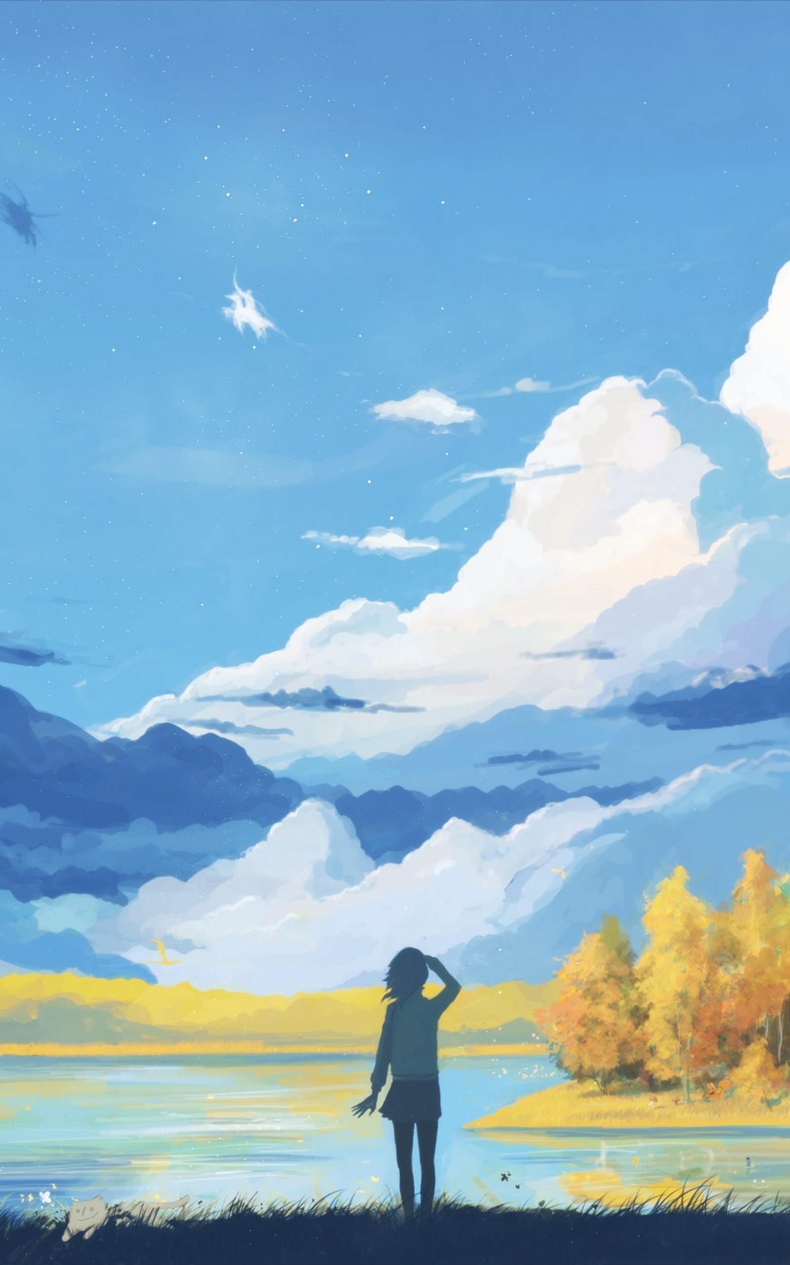 Peaceful Anime Background : peaceful, anime, background, Relaxing, Anime, Wallpapers, Wallpaper