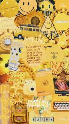 vsco yellow wallpapers aesthetic computer iphone collage backgrounds fondos amarillo pantalla fondo aesthetics insta colorful quotes amarillos pastel phone hd