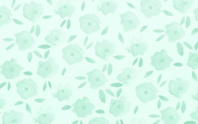 Green Floral Wallpaper Hd