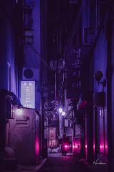 aesthetic korean wallpapers seoul purple pop backgrounds cyberpunk reddit sky vaporwave