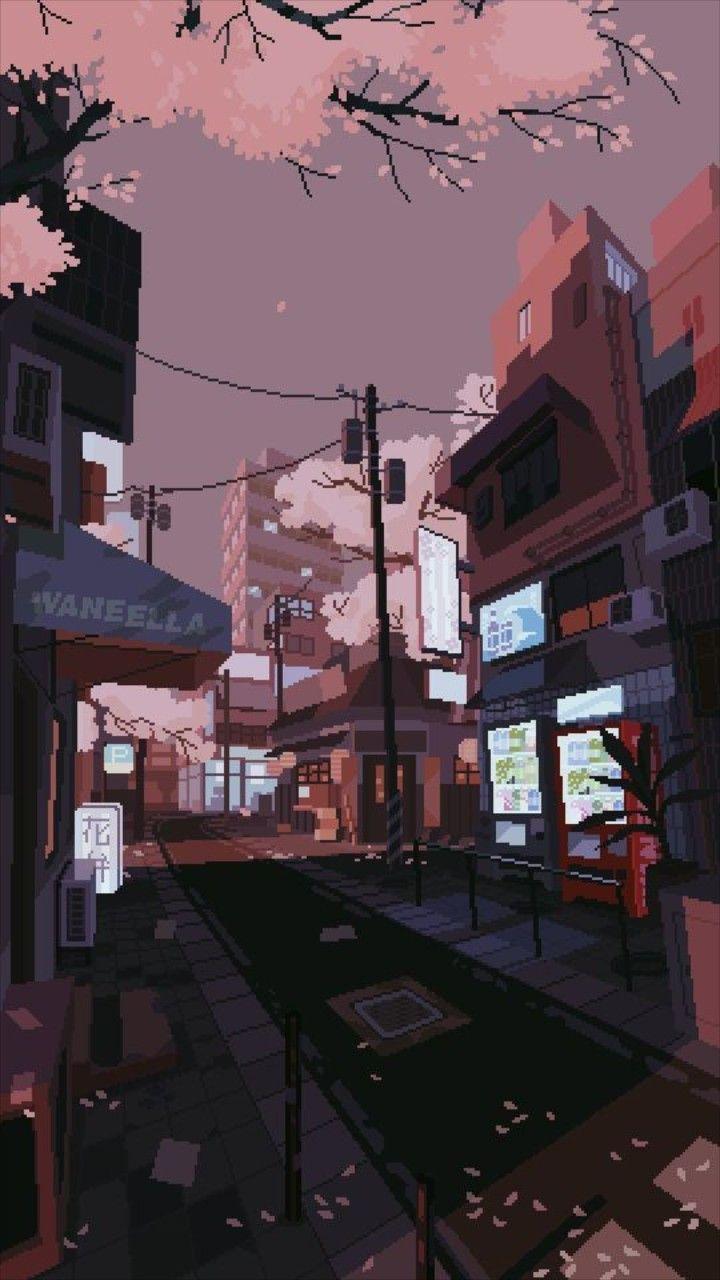 Aesthetic Anime Wallpaper : aesthetic, anime, wallpaper, Anime, Aesthetic, Street, Wallpapers, Wallpaper