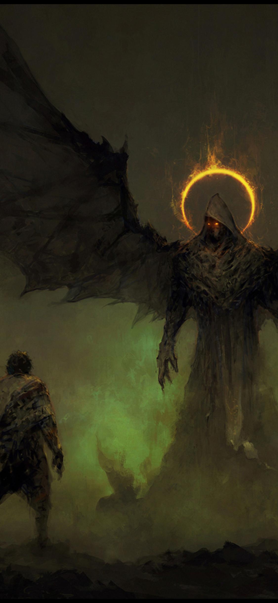 Angel And Devil Wallpaper : angel, devil, wallpaper, Angel, Devil, Wallpapers, Wallpaper