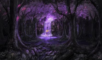 fantasy purple wallpapers