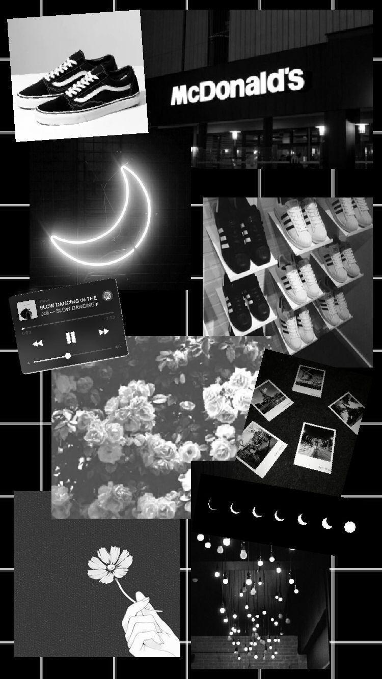Black Collage Wallpaper : black, collage, wallpaper, Black, Aesthetic, Collage, Wallpapers, Wallpaper