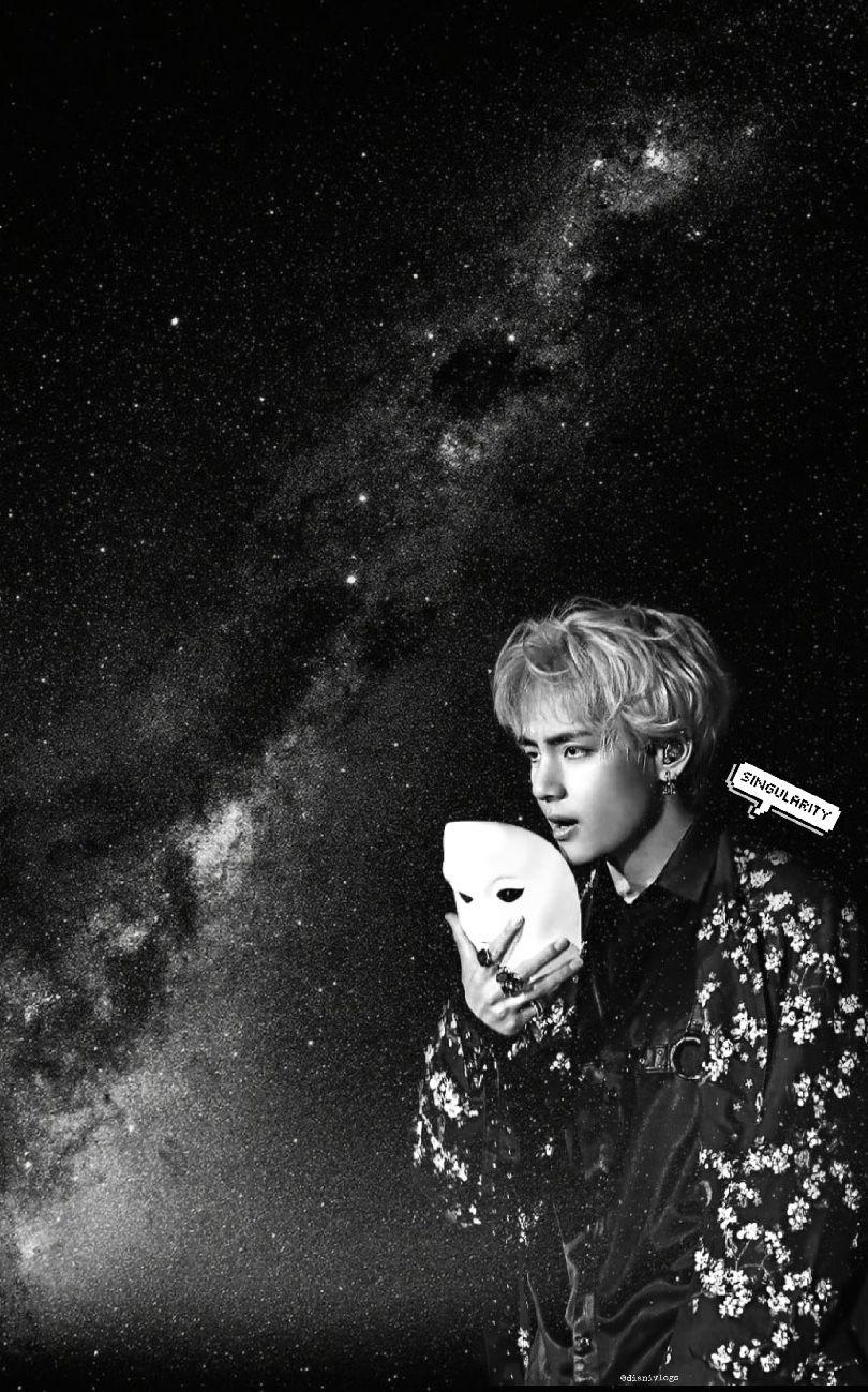Check out this fantastic collection of bts dark aesthetic wallpapers, with 57 bts dark aesthetic background images for your desktop, phone or tablet. Taehyung Black And White Aesthetic Wallpapers - Wallpaper Cave