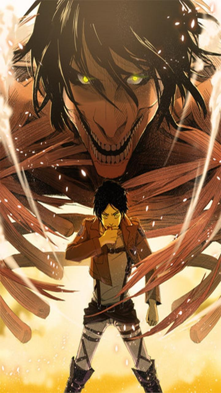 Whether you cover an entire room or a single wall, wallpaper will update your space and tie your home's look. Eren Attack On Titan Wallpaper Hd Phone - Guria-Criativa