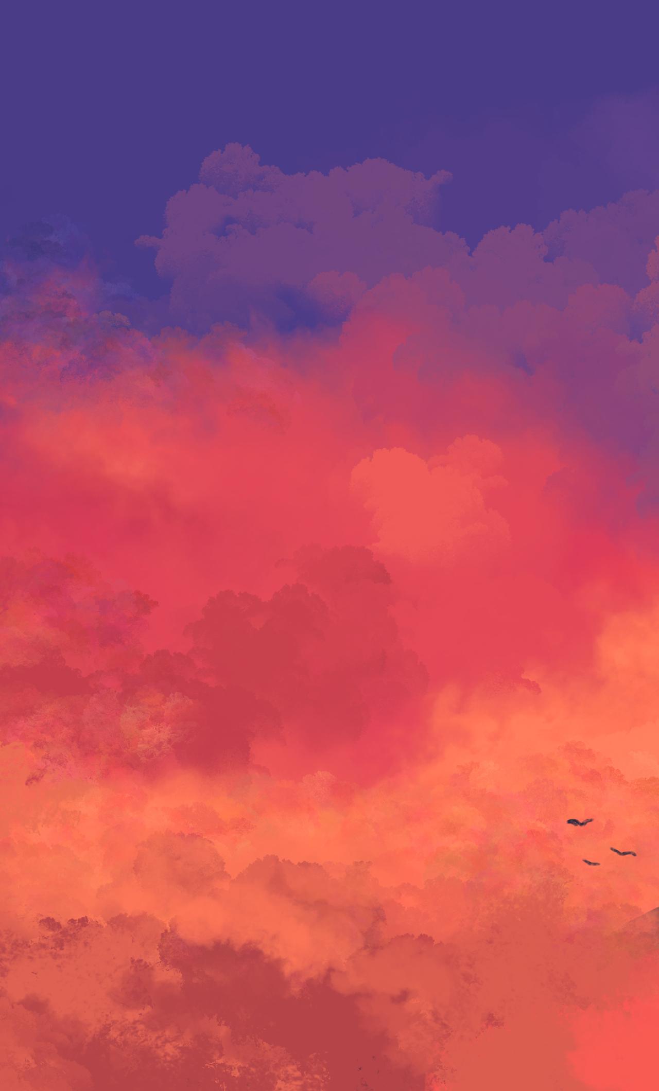Simplistic Anime Wallpaper : simplistic, anime, wallpaper, Wallpaper, Anime, Iphone, Sachi