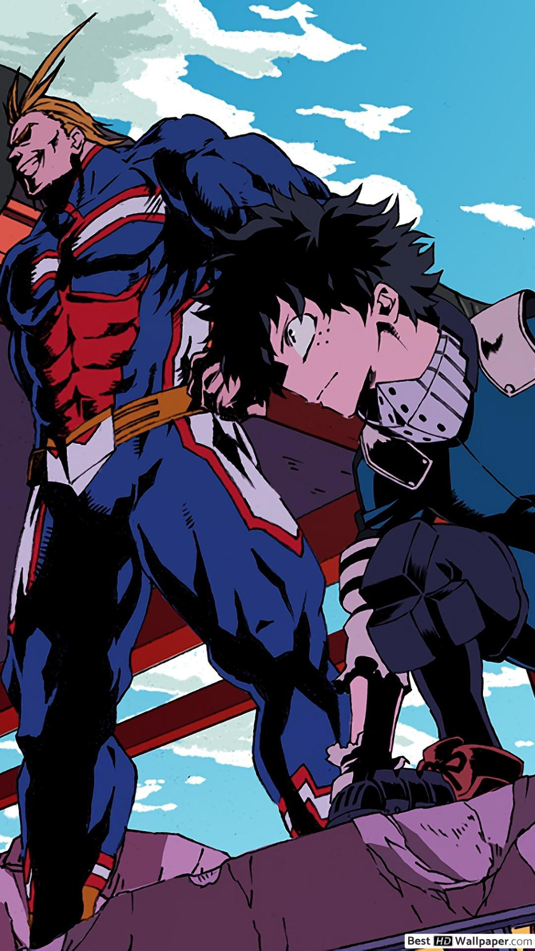 Choose from the iphone's default wallpaper selection or create your own vivid lock or home screen displays w. My Hero Academia iPhone Wallpapers - Wallpaper Cave