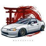 Honda Civic Del Sol Wallpapers Wallpaper Cave