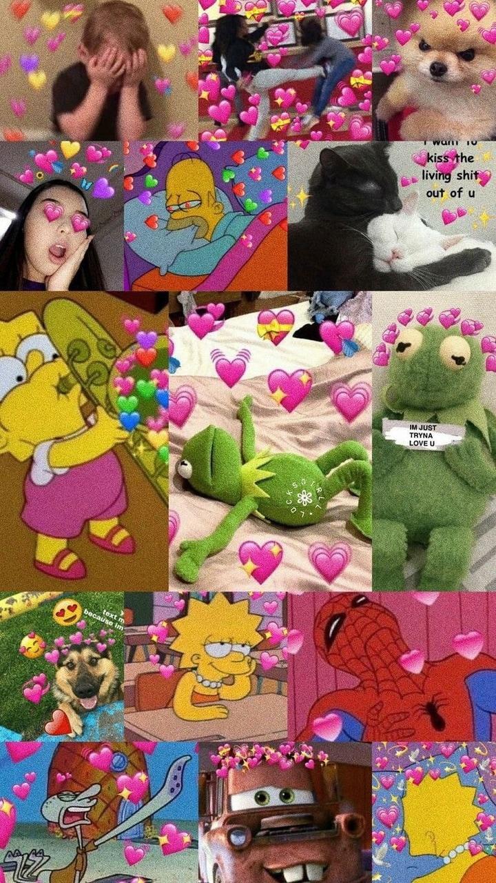 Kermit The Frog Hearts Wallpaper : kermit, hearts, wallpaper, Kermit, Hearts, Wallpapers, Wallpaper