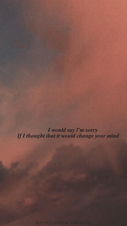 Aesthetic Quotes Wallpaper Tumblr