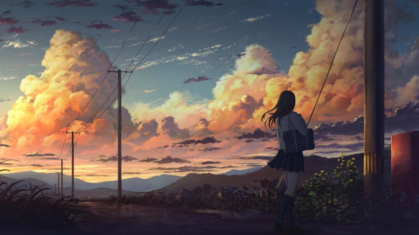 Check out this fantastic collection of aesthetic anime laptop wallpapers, with 56 aesthetic anime laptop background images for your desktop,. Scenery Anime Aesthetic Wallpapers - Wallpaper Cave