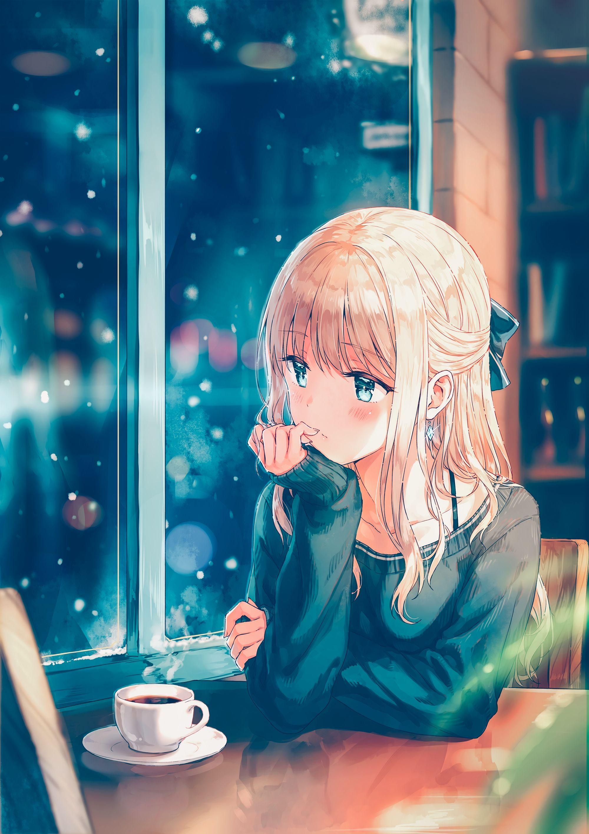 Anime Girl Phone Wallpaper : anime, phone, wallpaper, Anime, Phone, Wallpapers, Wallpaper
