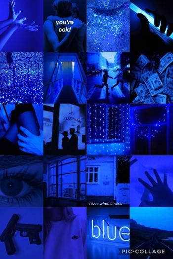 Blue Aesthetic Wallpaper Baddie