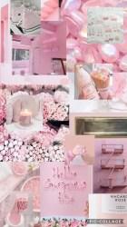 aesthetic pink collage pastel desktop wallpapers backgrounds aesthetics iphone pc fondos wallpaperaccess edit