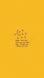 aesthetic yellow wallpapers quotes quote baddie lock screen orange words happy cave colors iphone positive