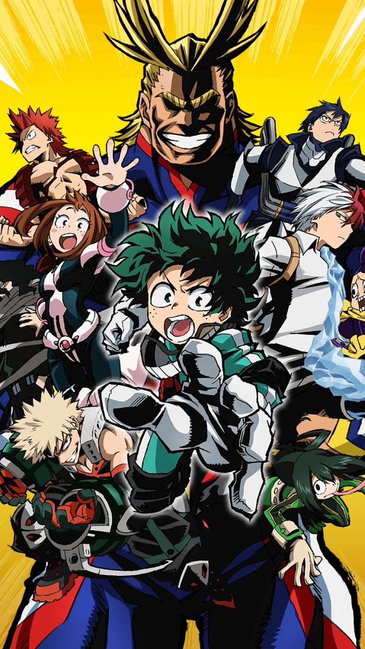 Really enjoyed the anime & liking what the manga is delivering so far ^^. My Hero Academia Chibi Wallpapers - Wallpaper Cave