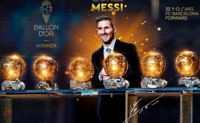 Messi Ballon D Or Wallpapers Wallpaper Cave