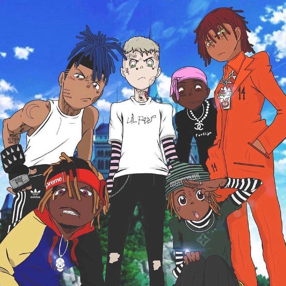 You can see a lot of pictures,. Juice Wrld Anime Art Wallpapers - Wallpaper Cave