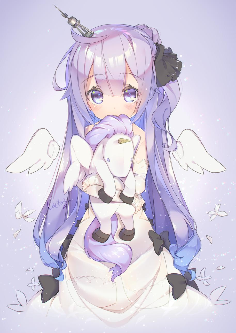 Anime unicorn girl | •Anime• Amino