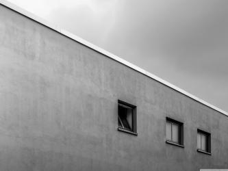 White Minimalist Architecture