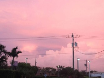 aesthetic pink sky laptop wallpapers pastel scenery clouds heart pretty theme cat place doja rose