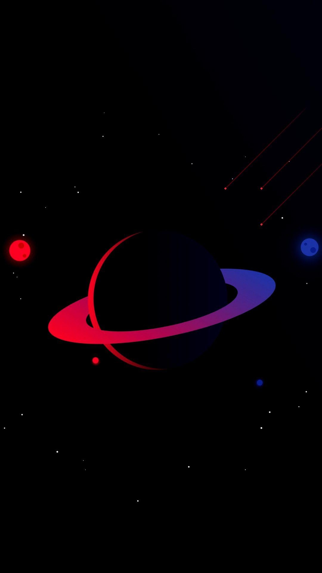 Space Minimalist Wallpaper : space, minimalist, wallpaper, Minimalist, Universe, Wallpapers, Wallpaper
