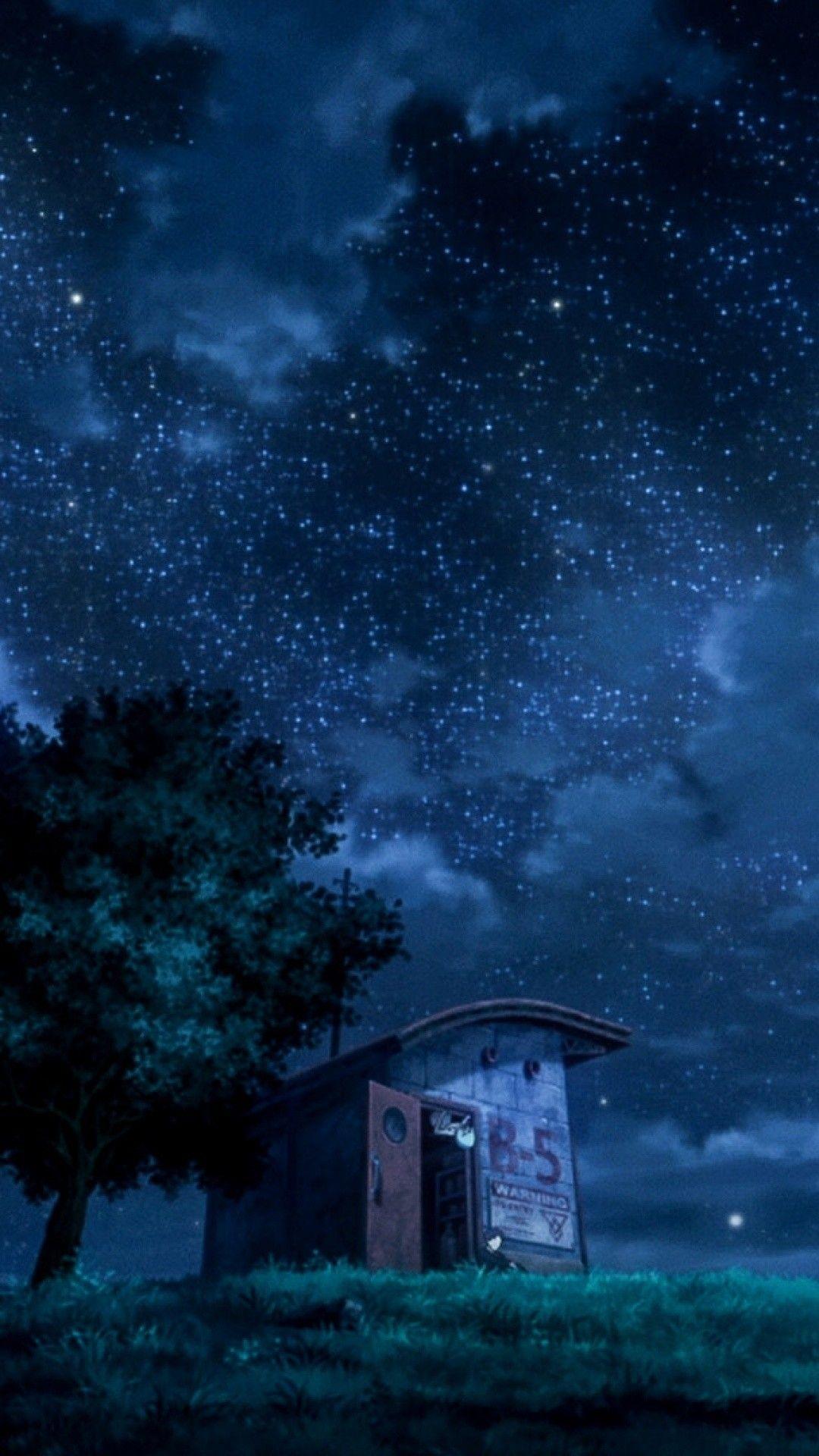Aesthetic Night Sky Wallpaper Anime Novocom Top