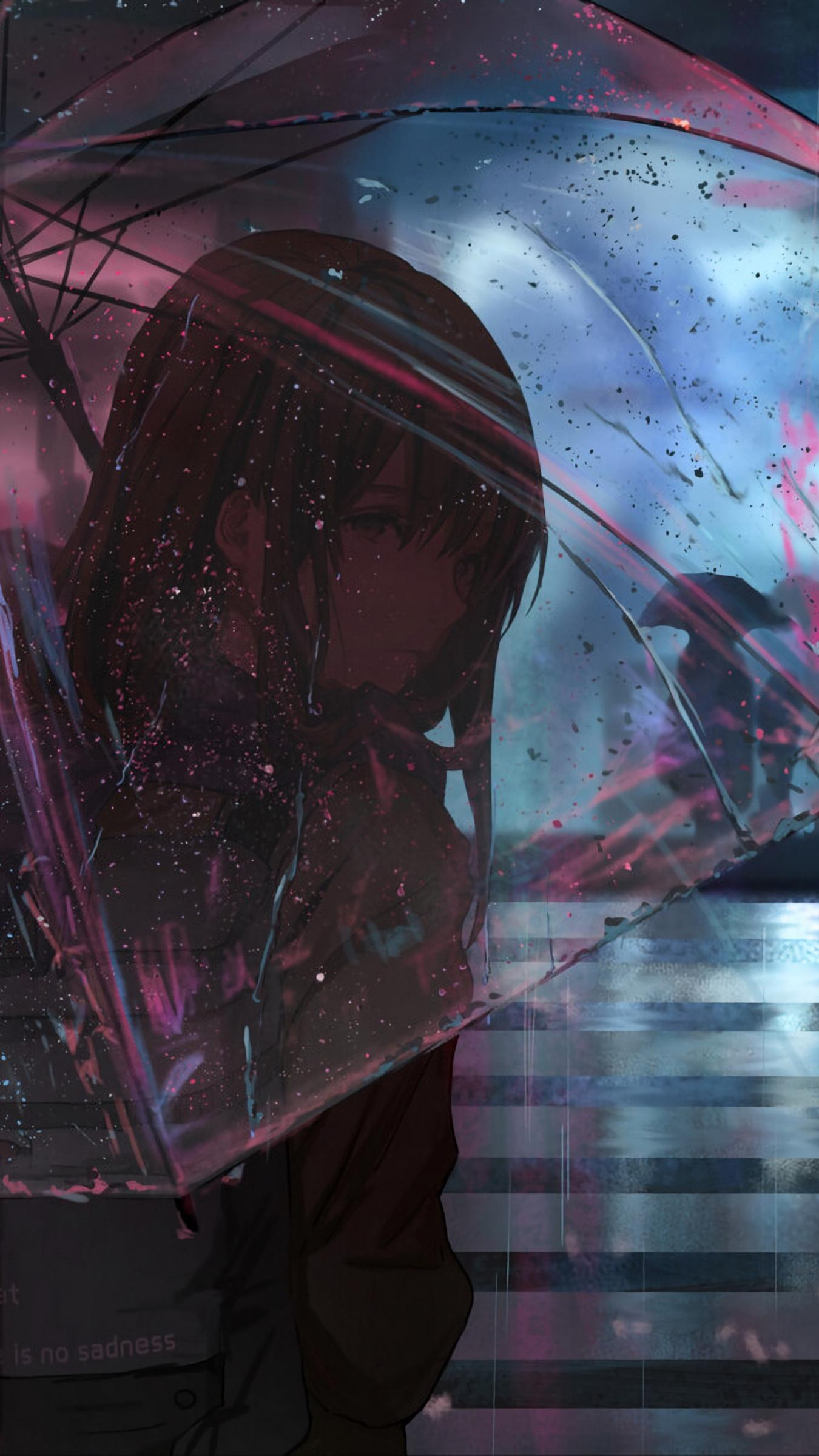Sad Anime Wallpaper Phone : anime, wallpaper, phone, Anime, IPhone, Wallpapers, Wallpaper