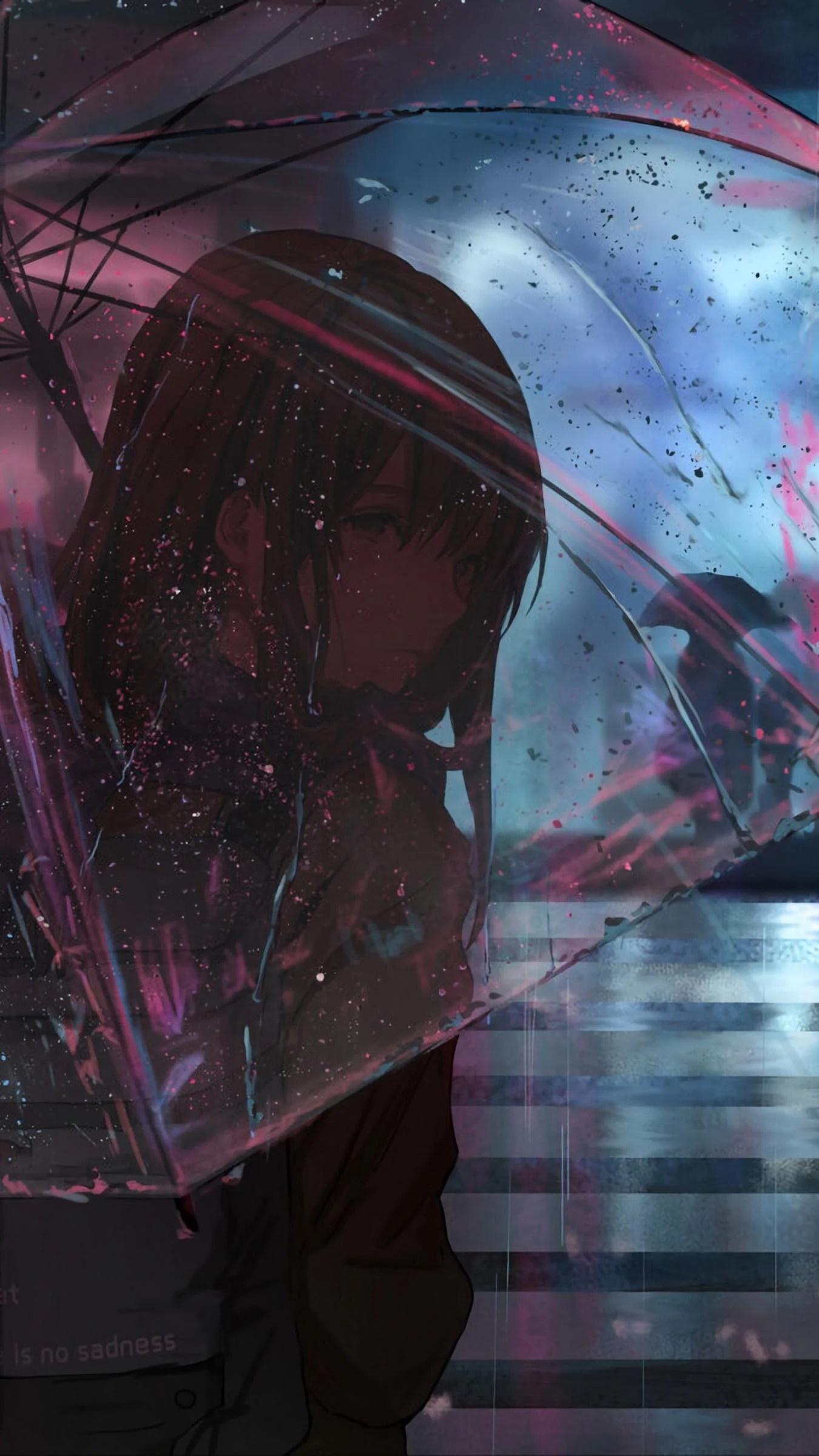 Sad Anime Wallpaper Phone : anime, wallpaper, phone, Anime, IPhone, Wallpapers, Wallpaper