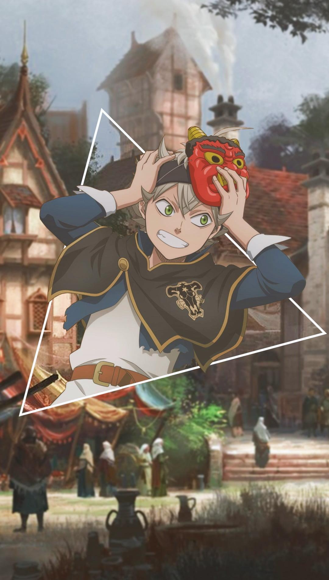 Your iphone and ipad is supposed to be a reflection of your own sense of character and style, so here's how to change the wallpaper on your iphone and ipad. Asta Black Clover Wallpaper - Anime Wallpaper HD
