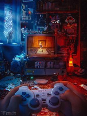 Room Background Gamer 2