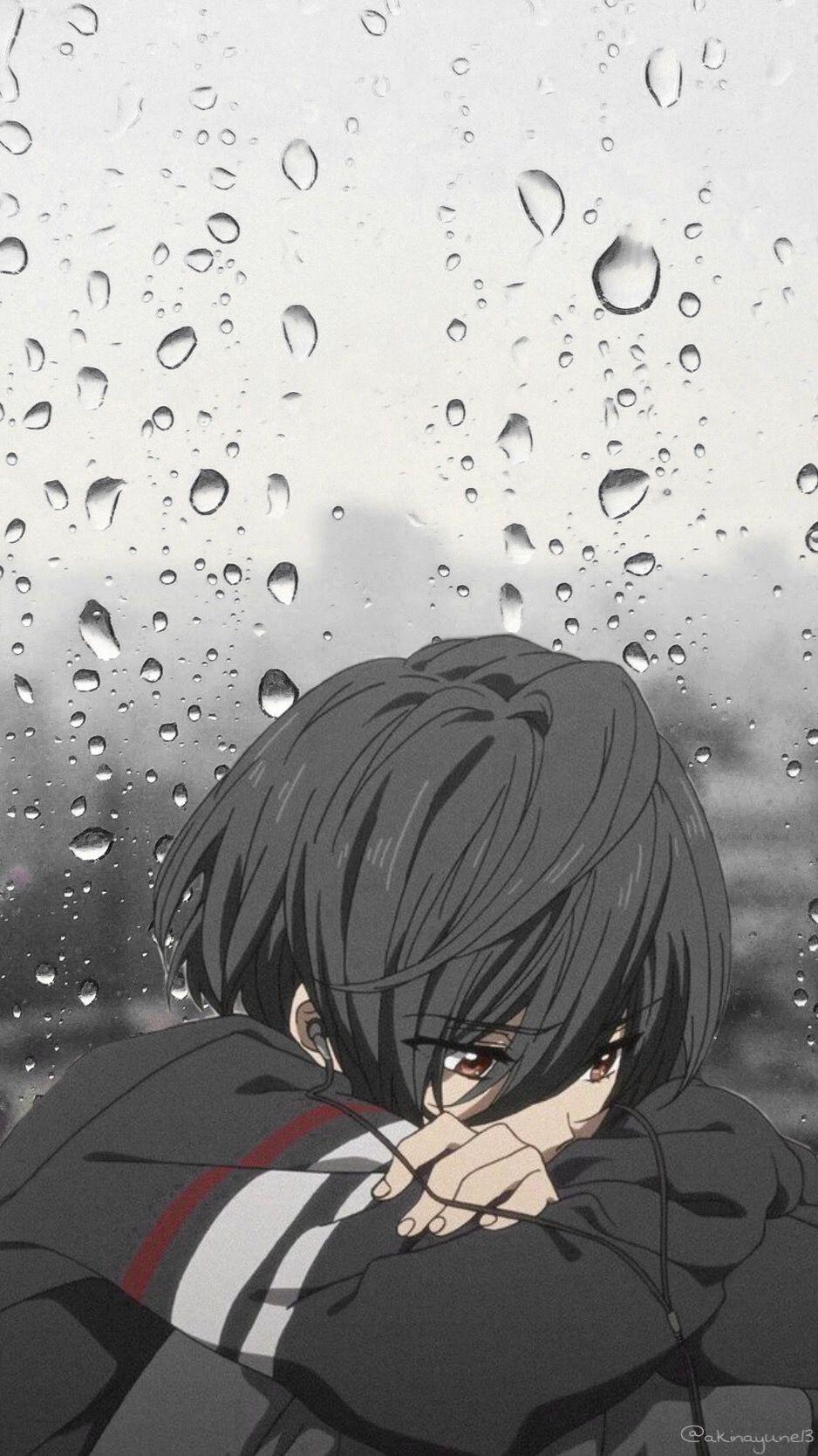 Boy Anime Sad : anime, Anime, Fanart, Wallpapers, Wallpaper