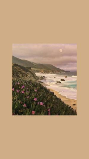 aesthetic brown wallpapers iphone korean backgrounds pantalla fondos wave fondo landscape artsy guardado desde uploaded user