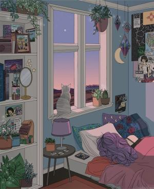 anime wallpapers drawing rooms bedroom