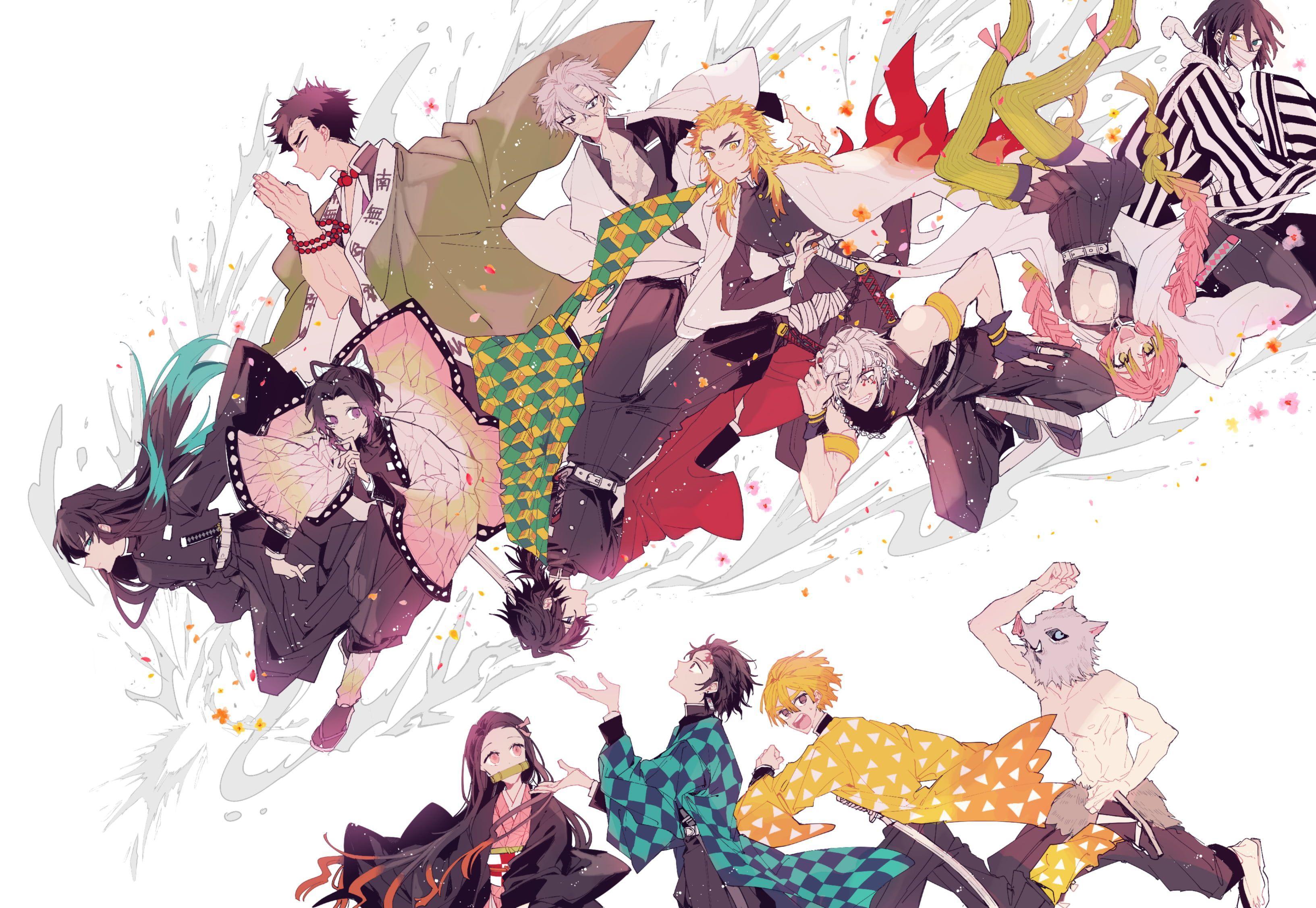 Flame, hashira, wallpapers, wallpaper, caveflame, hashira wallpaper hd. Demon Slayer Hashira Desktop Wallpaper Hd - doraemon