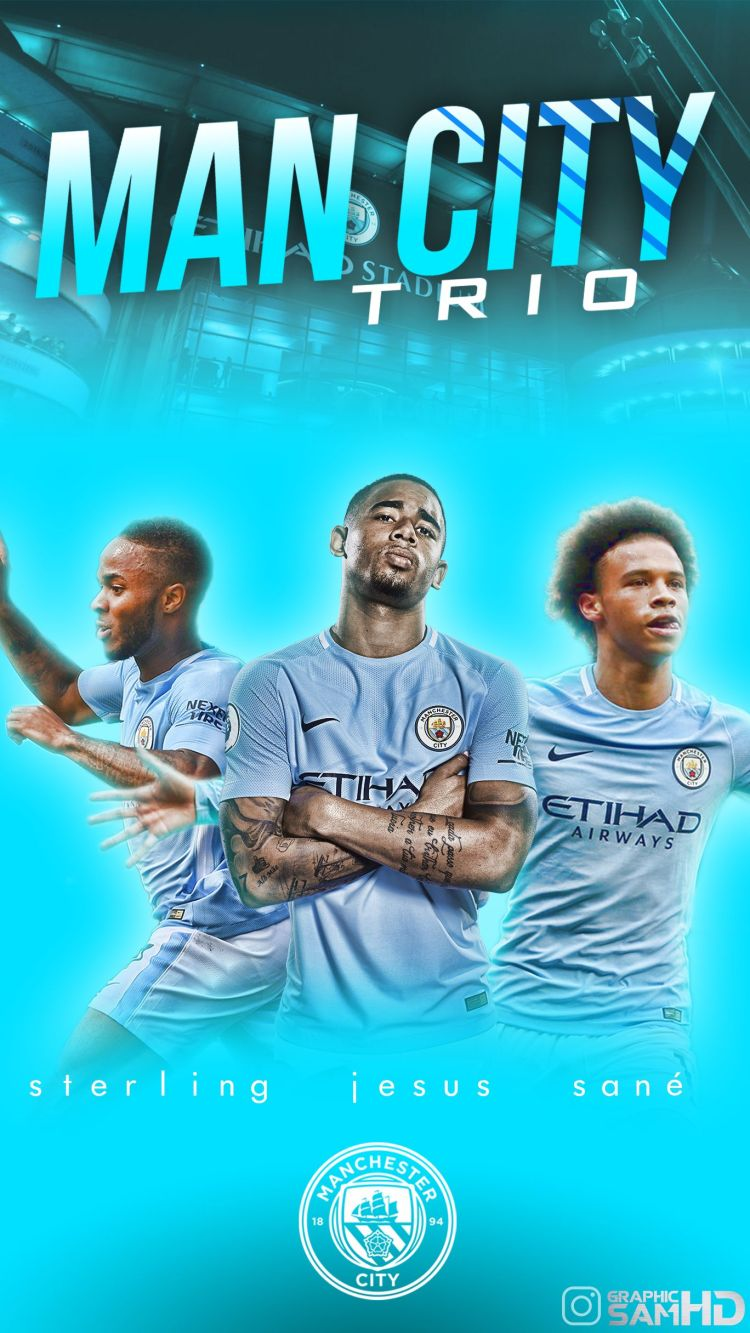 Manchester City Phone Wallpapers - Wallpaper Cave