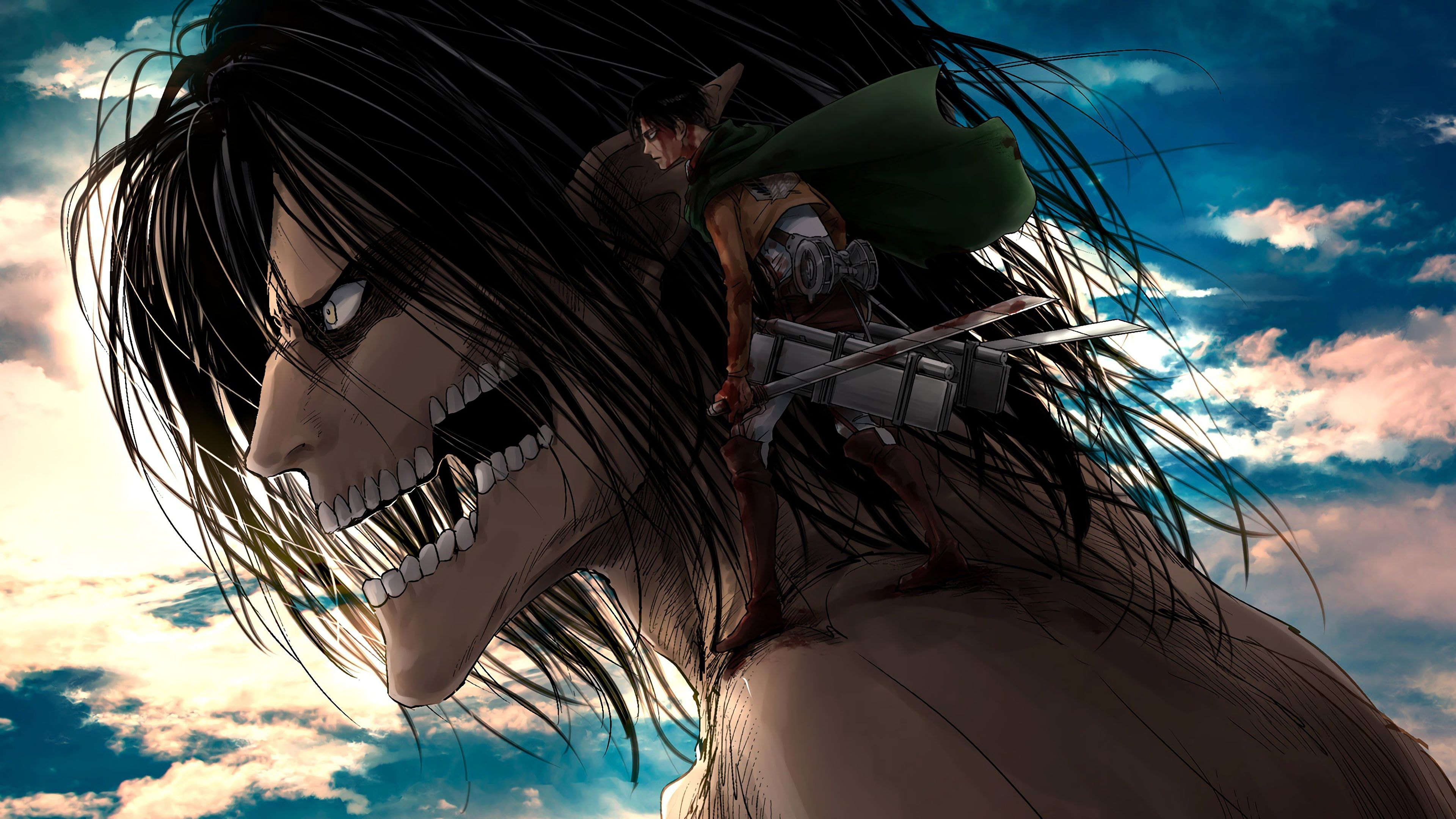 On april 15, 1912, the titanic entered history as one of the most notorious disasters at sea when the unsinkable ship struck an iceberg. Attack On Titan Anime 4k PC Wallpapers - Wallpaper Cave