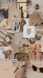 aesthetic brown wallpapers beige